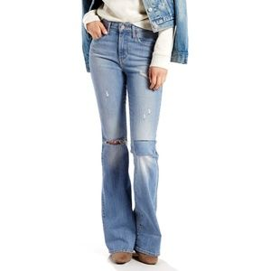 Levi's High-Rise Flare Jeans
